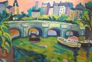 Pont Neuf vu du Pont des Arts