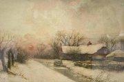 Winter bij Nieuwkoop-verkocht-