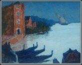 Zonsopgang in  Venetië