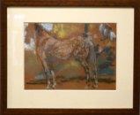 2 portretten van paarden